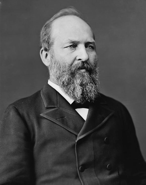 20: James A. Garfield