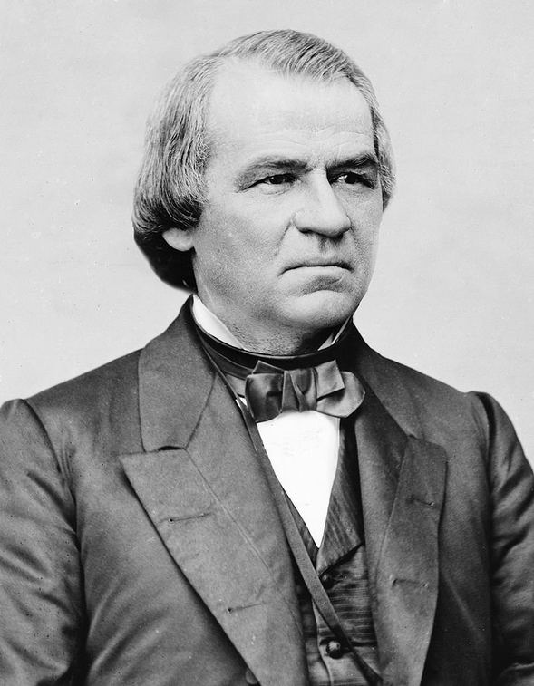 17: Andrew Johnson